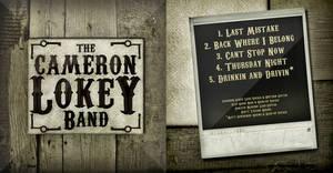 Cameron Lokey Band Album Artwork