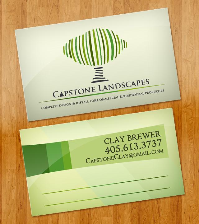 Capstone Landscapes Business Cards