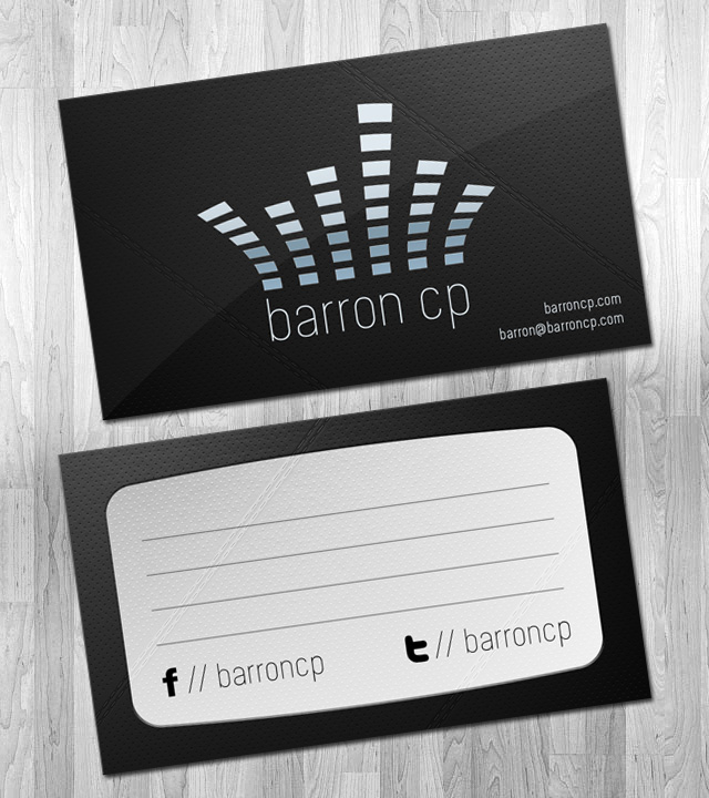 Barron CP Logo and Business Card Design