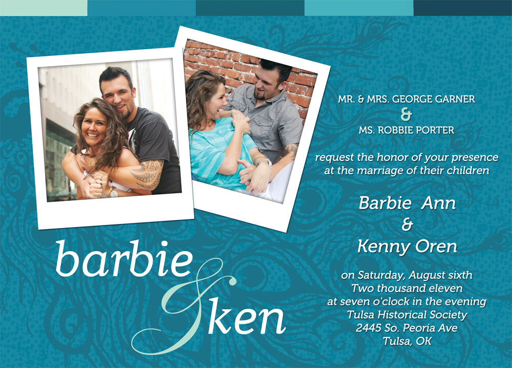 Ken and Barbie Wedding Invitations by ipholio on DeviantArt