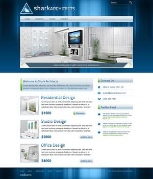 Shark Architecture Website