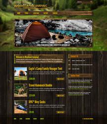 Woodland Camping Website