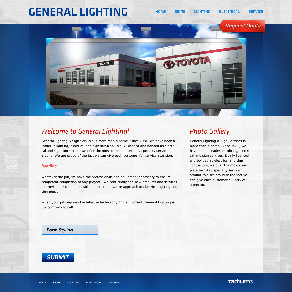 Lighting Website By Ipholio On DeviantArt