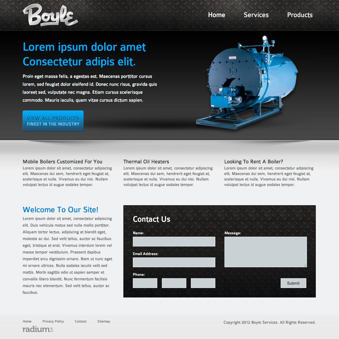Boiler Website