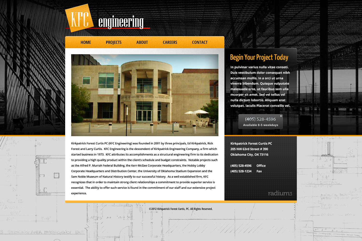 Engineering Firm Website