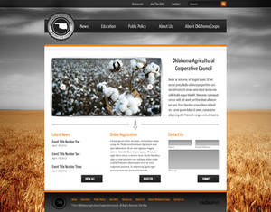 Agricultural Cooperative Website