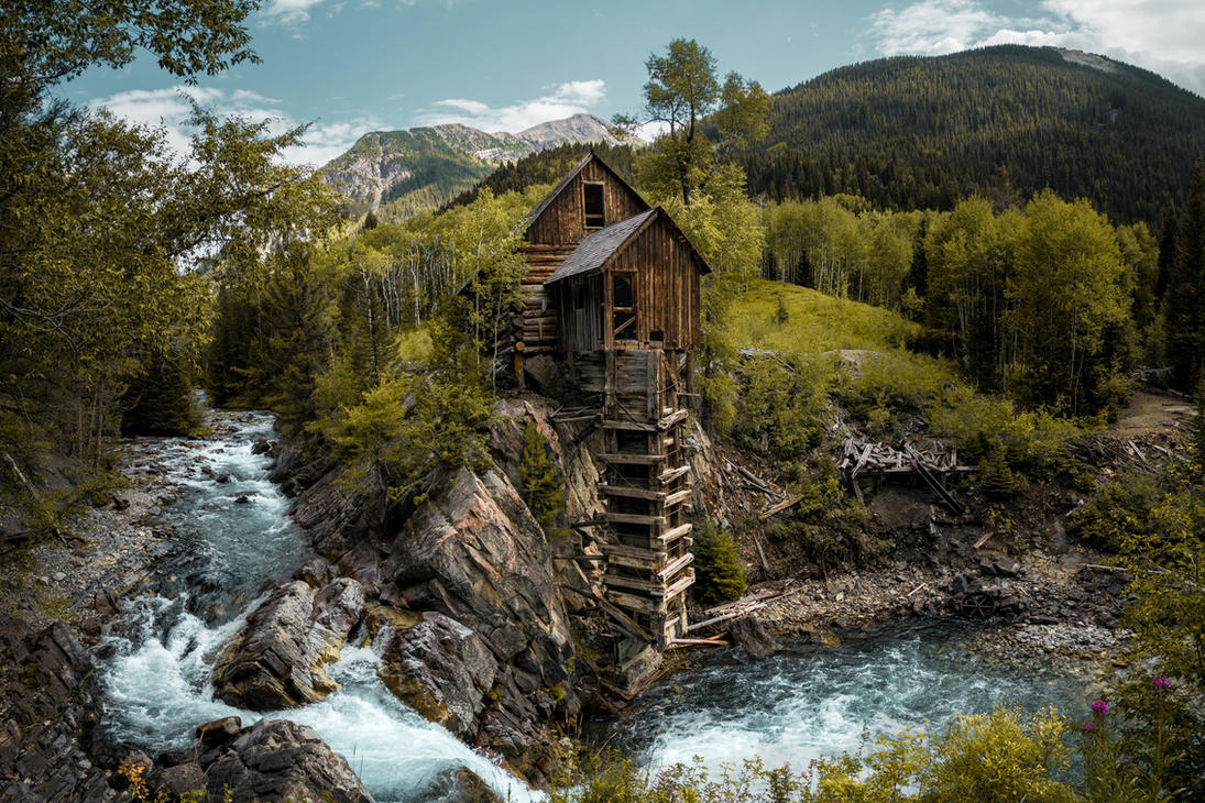 Crystal Mill, Colorado by ipholio