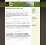 Z-ManGolf.com Interface