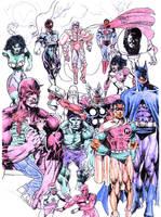 Marvel et DC. by tonydax