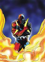 Daredevil Golde Age Comics by tonydax