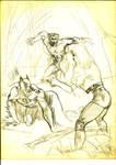Batman Wolverine and Black canary