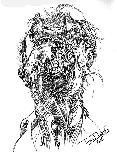 Walking Dead by tonydax
