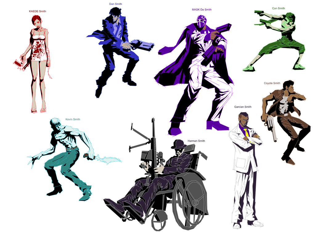 The Killer 7 by Kennysorel