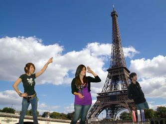 Raiza Michelle et moi a Paris