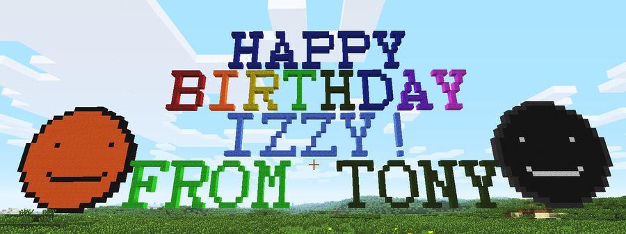 Happy Birthday Izzy