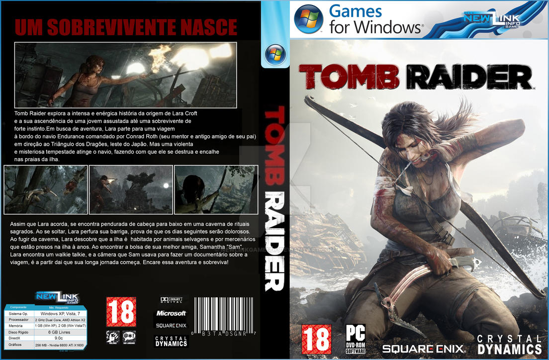 Tomb Raider 2012 Cover - PC by NewLinkGAMESDF on DeviantArt