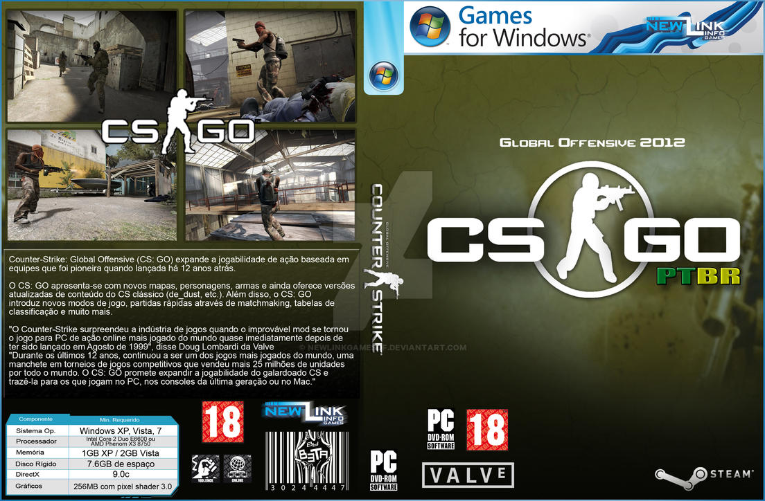 Counter Strike Global Offensive Pc Cover By