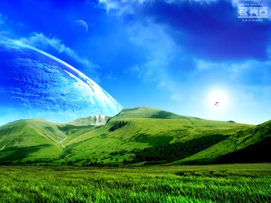 Green Hills by bigrdesign
