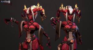 Ezri the Librarian Demoness - Closeups