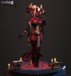Ezri the Librarian Demoness - Beauty Render Alt
