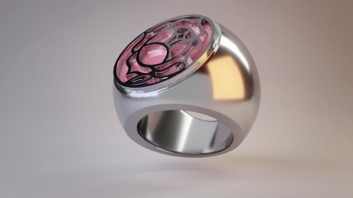 RGU/SKU Rose Seal Ring Render by Summoner-of-Mist