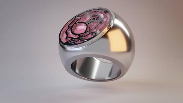 RGU/SKU Rose Seal Ring Render