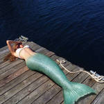 Mermaid Collection #3 : Lying on the dock