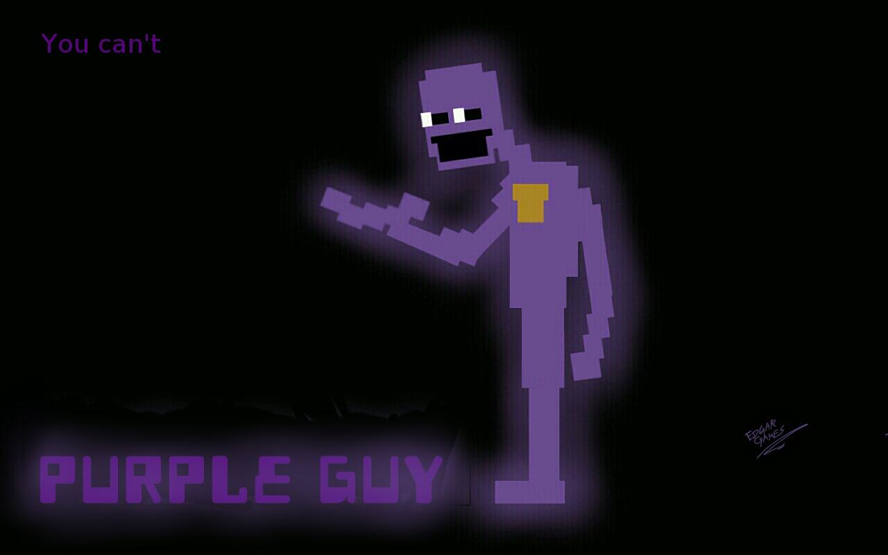 Purple Man-Pixel Version FNAF By Edgar-Games On DeviantArt