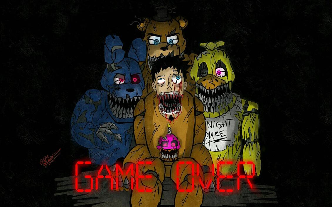 Game over fnaf4 by edgar games on deviantart