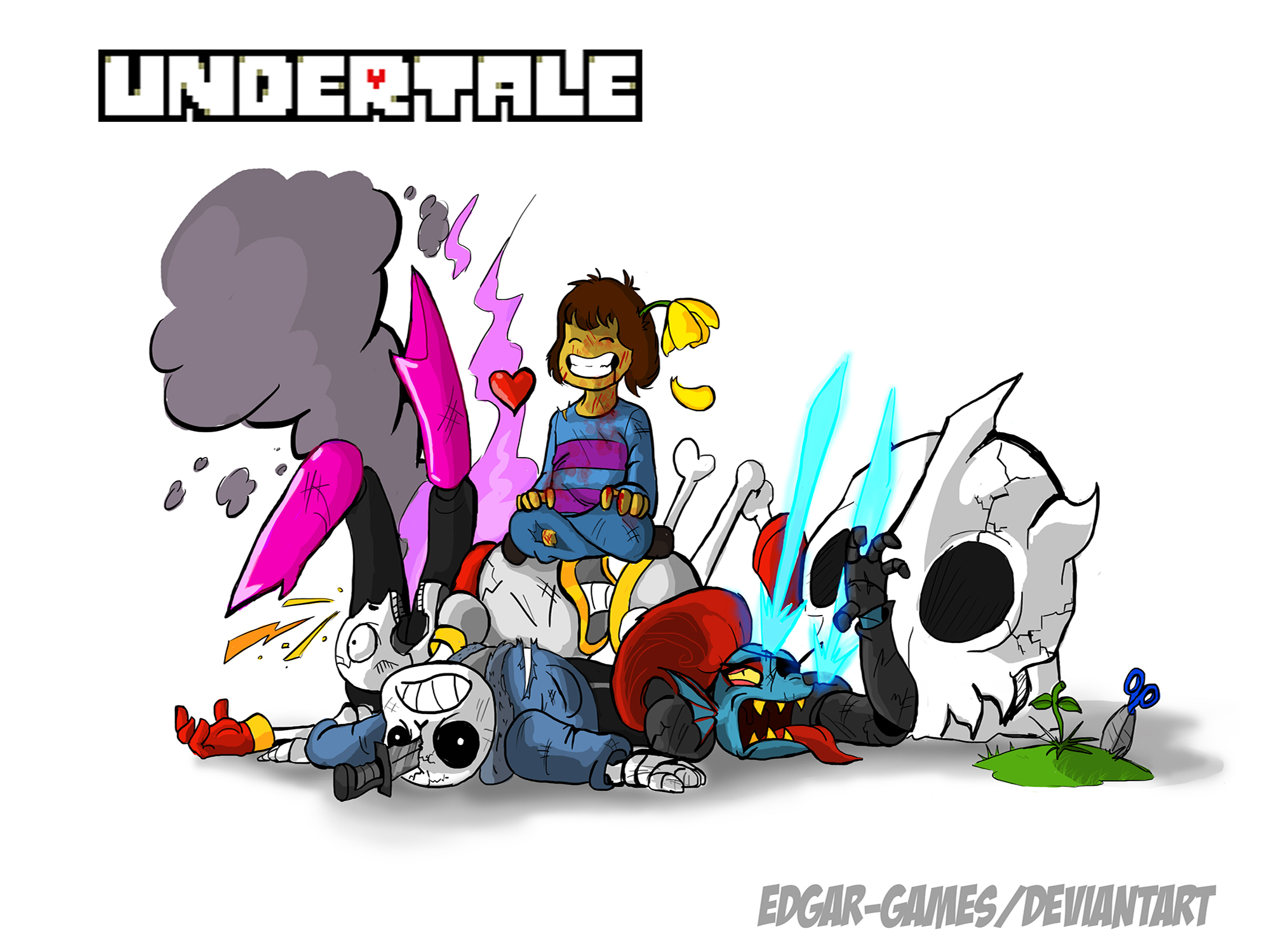 UNDERTALE The path of Genocide by Edgar-Games