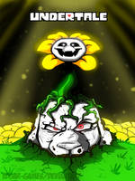 Asriel The Flower// UNDERTALE (UPDATED) by Edgar-Games