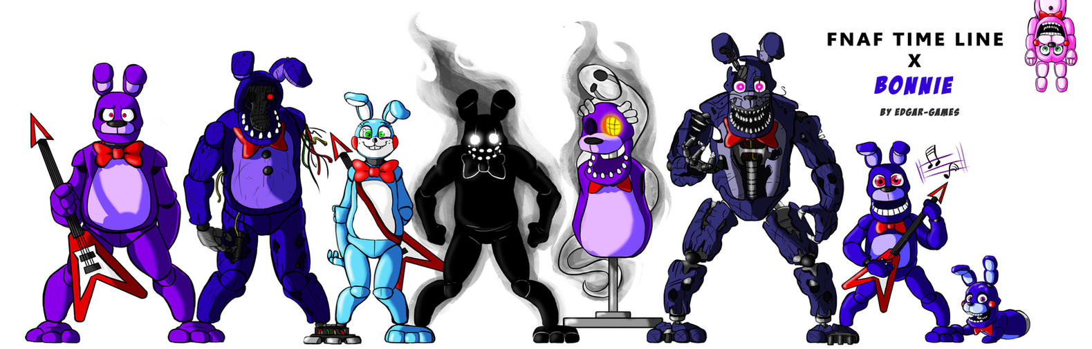 Bonnie FNAF (Time line) by Edgar-Games