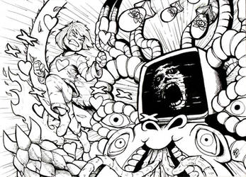 YOU CANT BEAT GOD!!/ INK Undertale