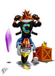 WOAH! - CRASH BANDICOOT MOTORBIKE