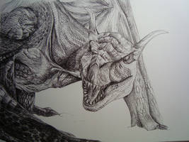 Monster Hunter Tigrex by Guryfrog