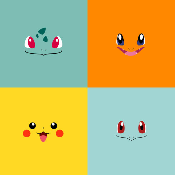 pokemon minimalistic pixelart hd - photo #17
