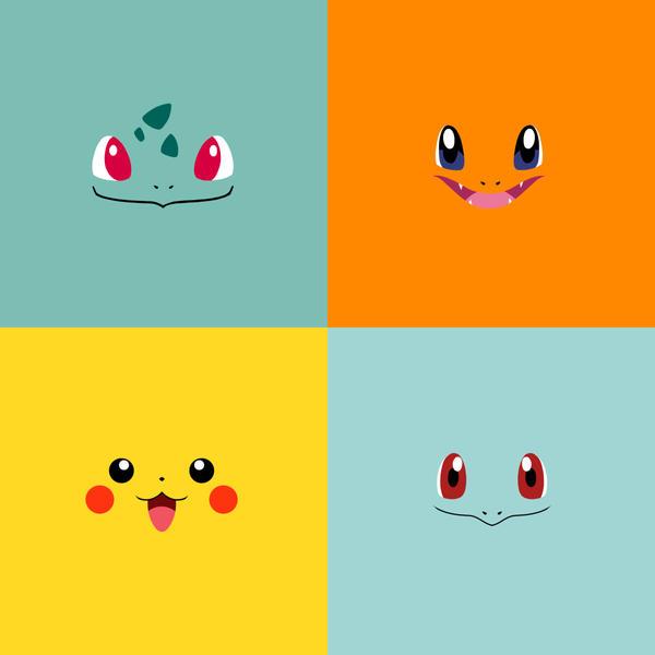 pics photos pokemon minimalistic