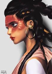 Photo study - Warrior Princess