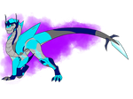 Talitha as a dragon~AT