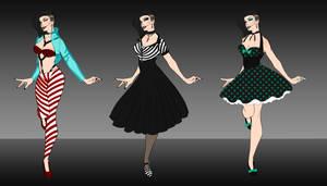 Klara's outfits 1~