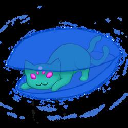 DC Art Game - Alien Cat