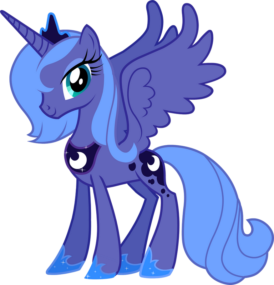 Princess Luna by Pazuzu54