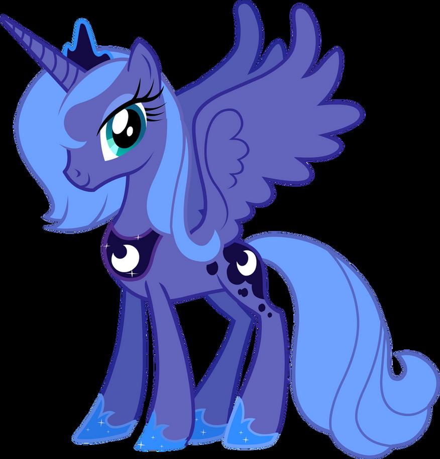 Princess Luna by Pazuz...