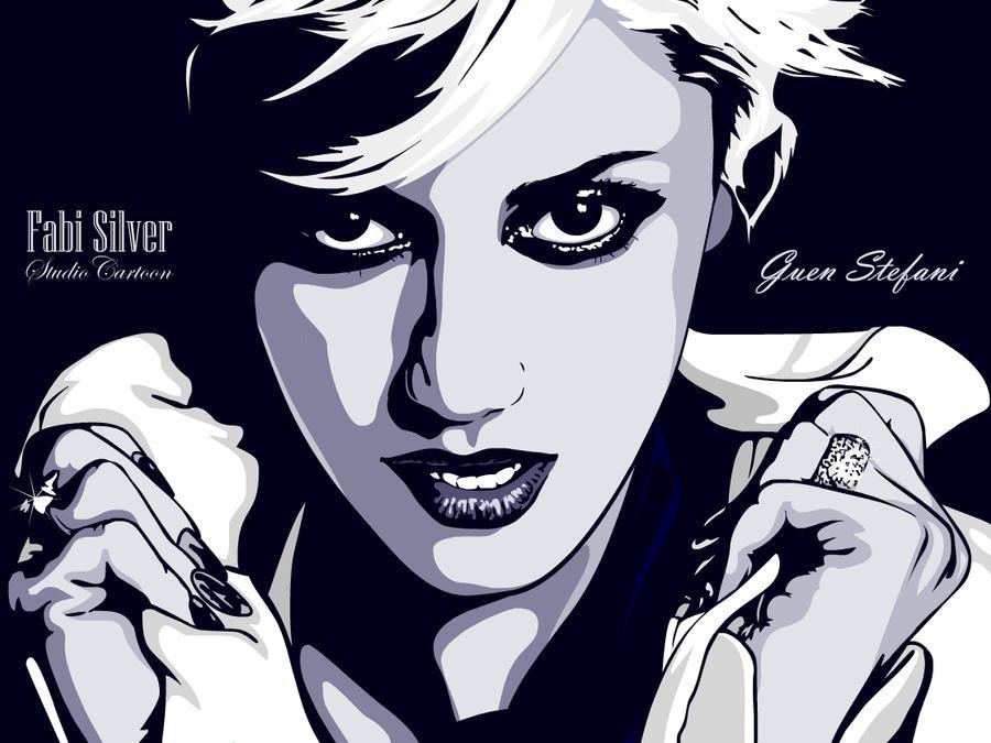 Gwen Stefani by studiocartoon