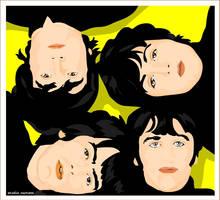 beatles by studiocartoon