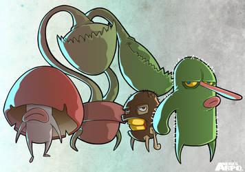 Seed Heroes by arpo78