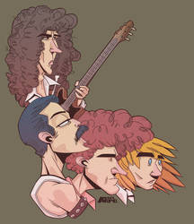 Bohemian Rhapsody Movie by arpo78