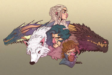 Game Of Thrones Set 1 by arpo78