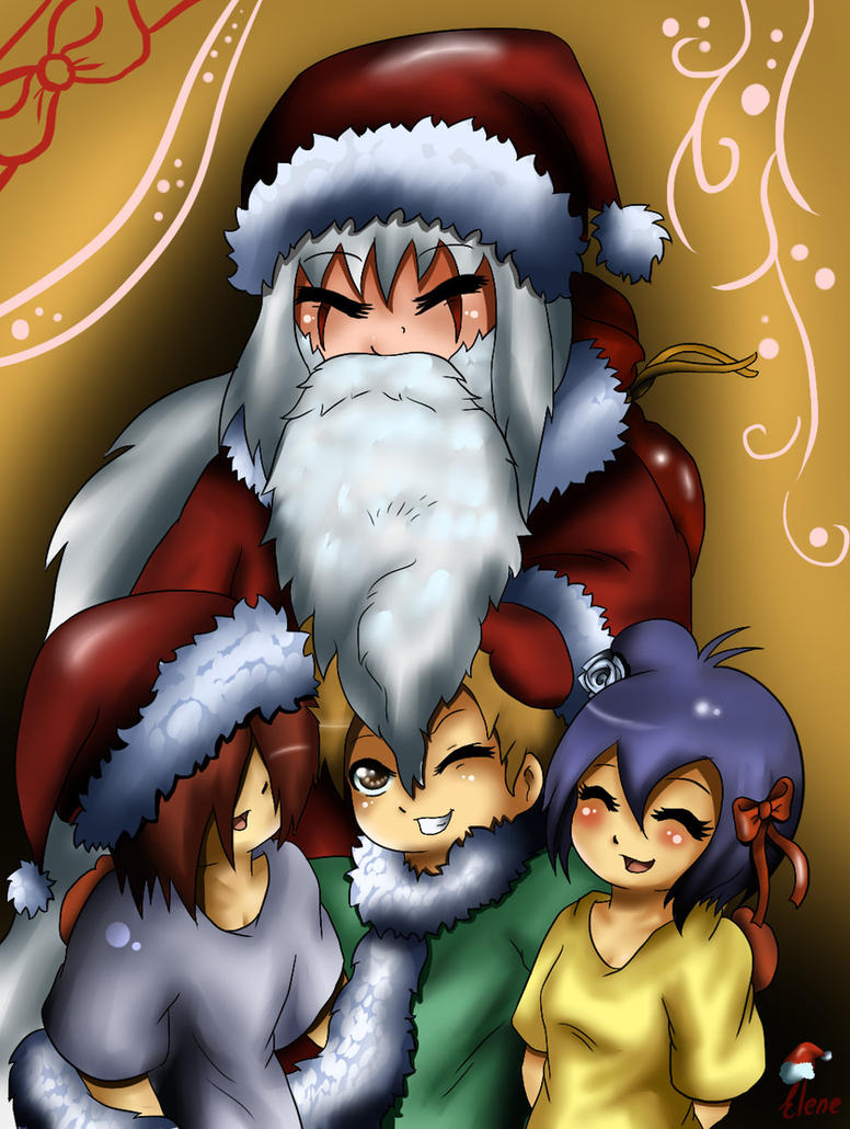 Our Santa-Jiraya by xXUnicornXx