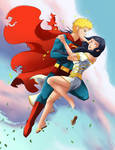 M CM:Naruto and Hinata-Superman
